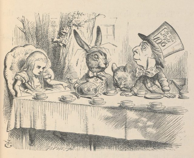 Illustration from first published edition of Alice's Adventures in Wonderland, illustrated by John Tenniel, 1866. © Victoria and Albert Museum, London