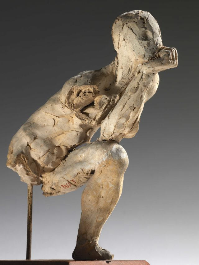 Auguste Rodin - Study for The Thinker. Courtesy of Tate Collective and Musee Rodin.