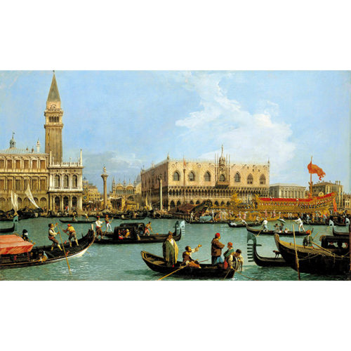 Canaletto, The Bacino di San Marco on Ascension Day, c.1733–4. Royal Collection Trust/© Her Majesty Queen Elizabeth II.