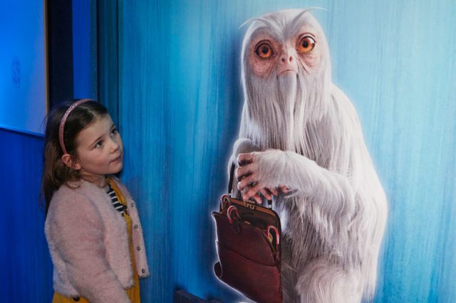 Rose and the Demiguise. © Trustees of the Natural History Museum