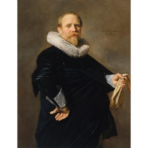 Frans Hals, Portrait of a Man, 1630. Royal Collection Trust/© Her Majesty Queen Elizabeth II 2020.