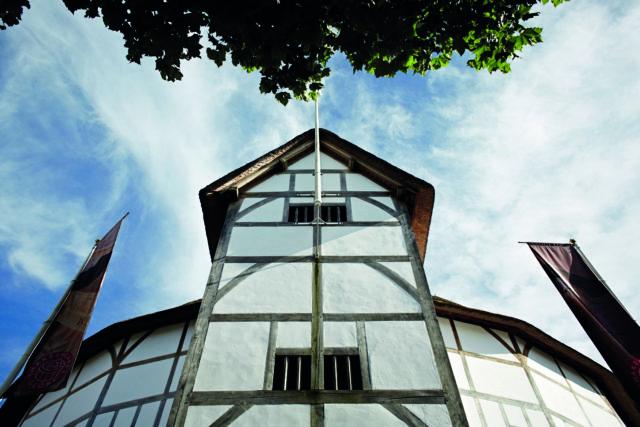Exterior of Shakespeare's Globe by John Wildgoose