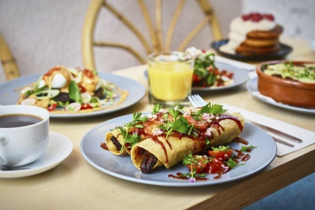 Near and Far Camden bottomless brunch with a Mexican twist
