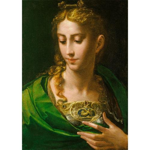 Parmigianino, Pallas Athene, c.1535. Royal Collection Trust / © Her Majesty Queen Elizabeth II 2020.