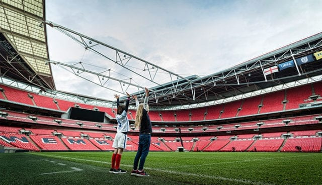 Wembley Stadium © Chris Winter