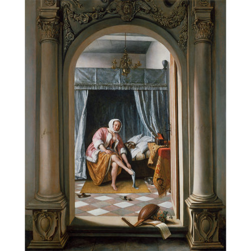 Jan Steen, A Woman at her Toilet, 1663. Royal Collection Trust/© Her Majesty Queen Elizabeth II.