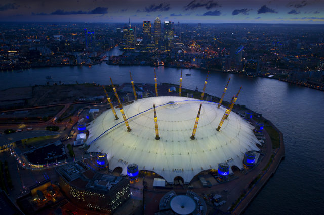 Up at the O2 Evening