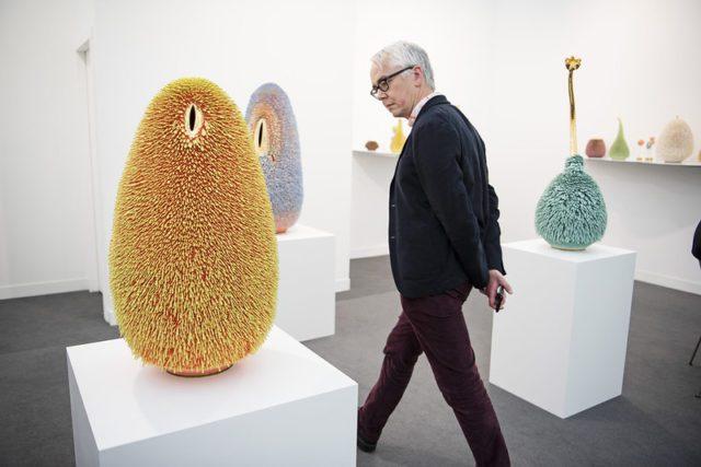 Marianne Boesky Gallery, Frieze London 2019. Photo by Linda Nylind.