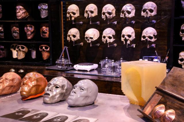 Warner Bros Dark Arts skulls