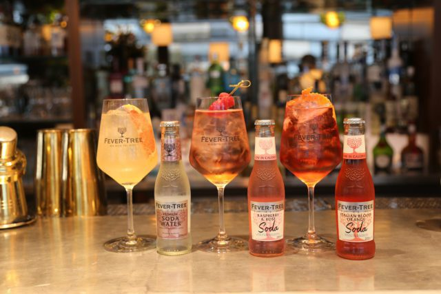 Fever Tree have opened a pop up gin bar at Sky Garden London until 6 September 2021