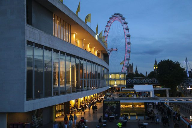 Southbank Centre and London Eye at night by India Roper-Evans