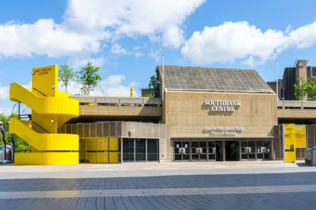 Queen Elizabeth Hall at the Southbank Centre, by Pete Woodhead.